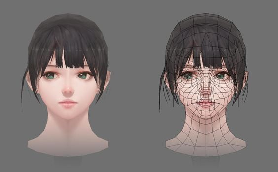 ArtStation - 3D LOW POLY, Sangwook Kang