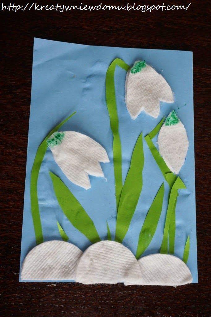Pierwsze Oznaki Wiosny Kreatywnie W Domu Spring Crafts For Kids Spring Crafts Art N Craft