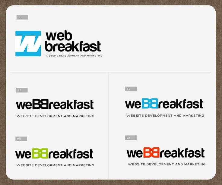 WebBreakfast - logo design