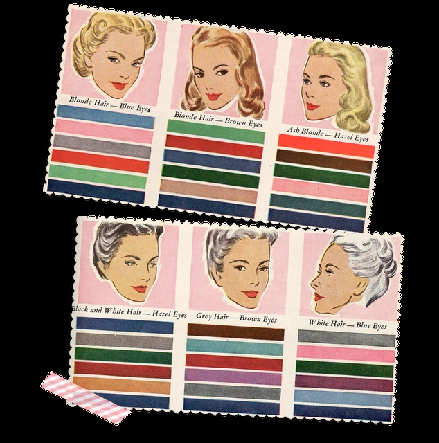 Colors and Swatches 1947