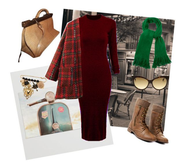 """Amelie"" by thengirl on Polyvore featuring WithChic, Vintage, Dolce&Gabbana, Emilio Pucci, White Stuff, women's clothing, women's fashion, women, female and woman"