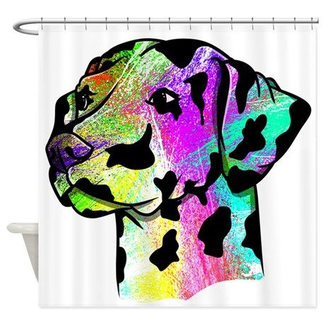Dalmatian Shower Curtain on CafePress.com
