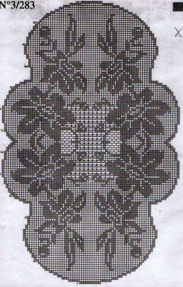 Kira crochet: Scheme no. 39