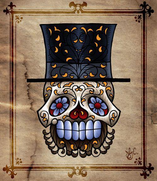 sugar skull 58 / Flickr - Photo Sharing!