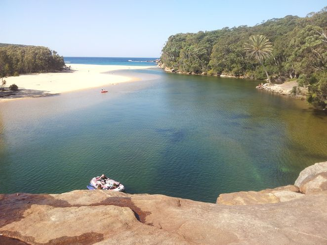 Wattamolla Creek Australia Royal National Park