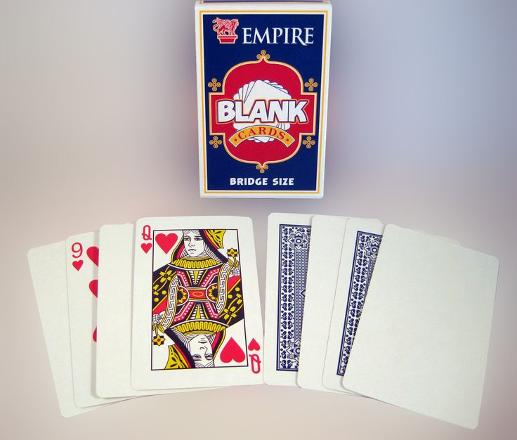 Magic Blank Deck