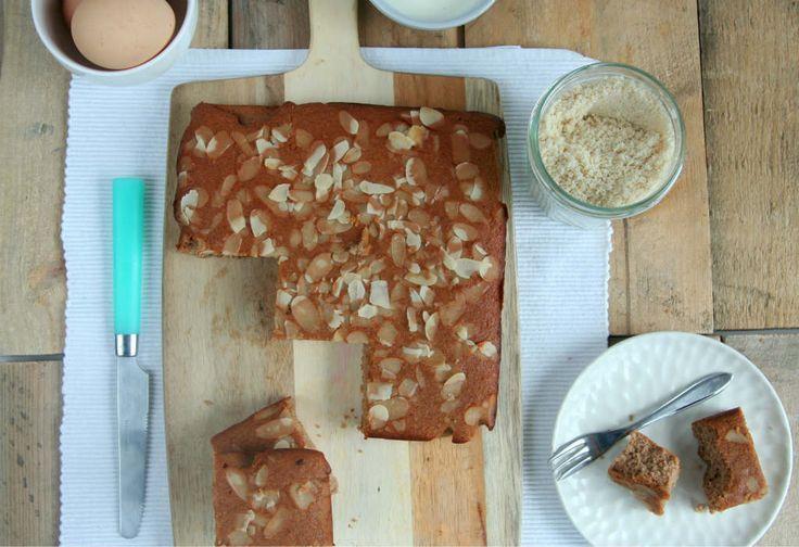 gezonde sinterklaascake, 15-11-15 gemaakt. Erg lekkere cake!