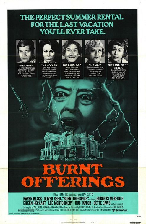 Burnt Offerings (1977) this movie always scared the crap out of me!