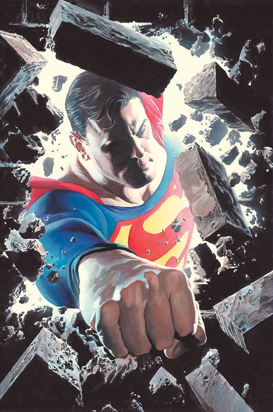 Superman by Alex Ross ✜ ღ♥Please feel free to repin ♥ღ✜ www.unocollectibles.com