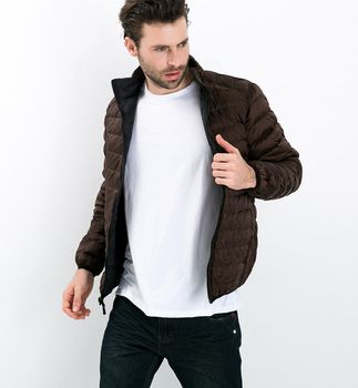 2016 Fall Winter man Eendendons Twee Side Wear Jacket Ultra Licht Dunne Plus Size Winter Jassen Mannen Mode Bovenkleding jas 5