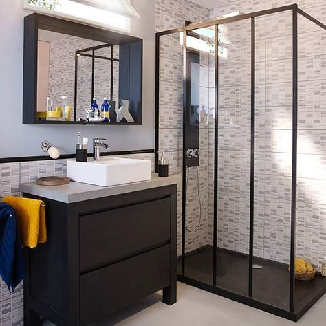 les 25 meilleures id es de la cat gorie paroi de douche 120 sur pinterest banyo murs. Black Bedroom Furniture Sets. Home Design Ideas