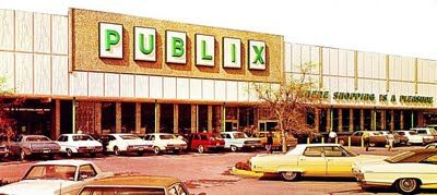 Publix Supermarkets as appeared in the 1970s