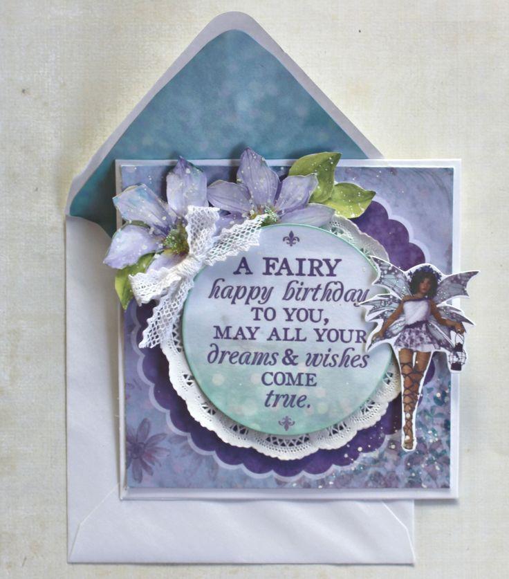 Fairy Card - Kaisercraft Fairy Dust - Scrapbook.com