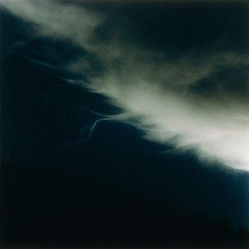 Bill Henson, 1990/1991. Far. I love how the cloud looks in this image, almost otherworldly as I've never seen one quite like that before. I also like how it cuts through the darkness in the photograph.