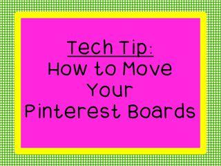 Rearrange Your Pinterest Boards
