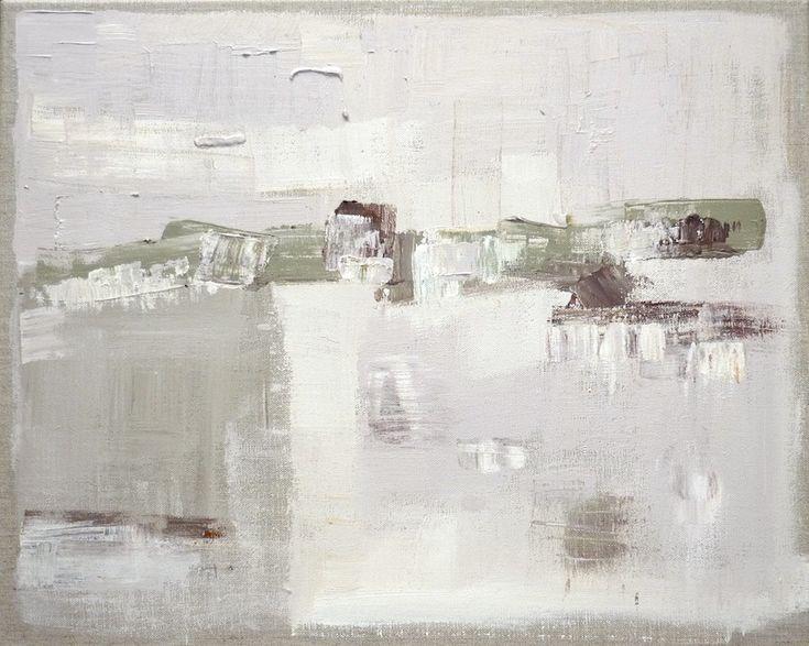 Peinture fraiche : skyline #3 Acrylique sur toile