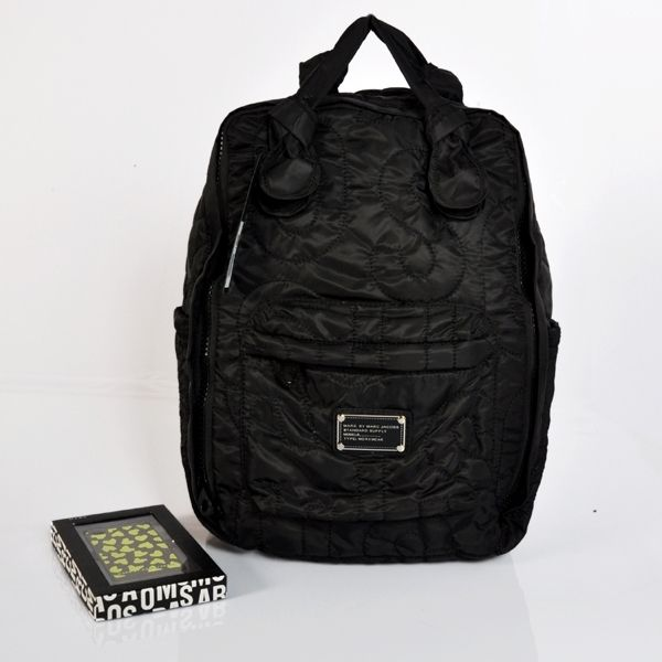 Marc Jacobs Backpacks: Marc By Marc Jacobs Nylon Black Knapsack Backpack