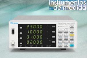 Los medidores de potencia digitales de alta velocidad y precisión con 3 y 4 canales. Serie 66200 de Chroma de están diseñados para aplicaciones de medida de potencia de múltiples fases, cumpliendo normas internacionales como Energy Star ®, EN 50564, IEC 62301 y ErP.