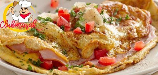 Resep Hidangan Lauk, Omelet Jamur, Club Masak