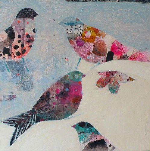 becky blair: Birds Art, Little Birds, Art Inspiration, Artists Work, Art Birds, Birds Bath, Height Chart, Becky Blair Artists, Birds Nests Cag