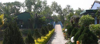 Enterace Road of United-21 Resort Sunderbans
