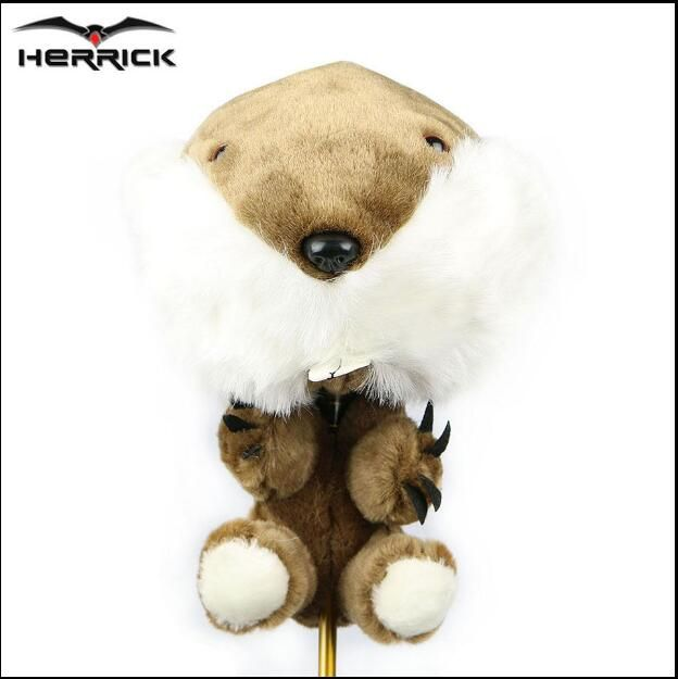 Golf clubs wood sets headcovers animal plush one head protection for men and women golf wood caps