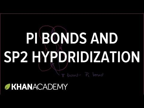 Pi bonds and sp2 Hybridized Orbitals - YouTube