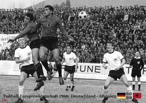 1967 : Deutschlands Aus gegen Albanien 0:0