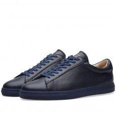 Zespa ZSP4 Sneaker (Triple Navy Nappa)