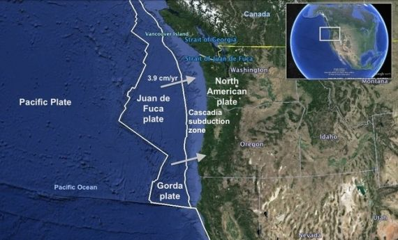 "An ocean data buoy is alerting to an ""event"" in the Cascadia Subduction Zone off the west coast of Oregon. This is where a magnitude 9 earthquake hit in 1700. According to the data buoy, the water column height (depth) fell sharply within minutes off the coast of Oregon, signaling the land beneath the ocean has …"