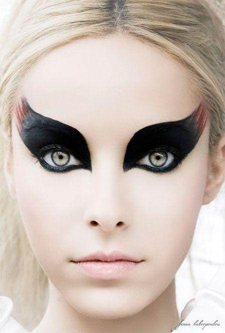 Best 25+ Devil makeup ideas on Pinterest | Fire makeup, Theatrical ...