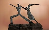 ART CRUNCH: Powertex Statuettes
