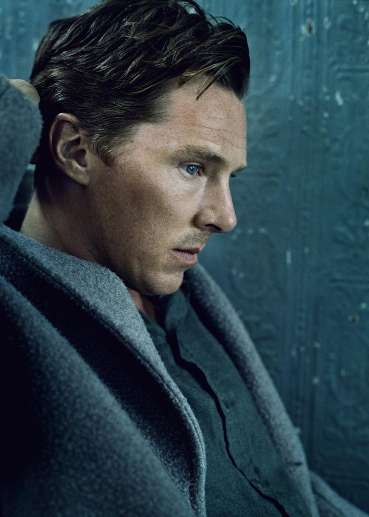ELLE: Benedict Cumberbatch's full December cover interview - GD his perfect profile. <3