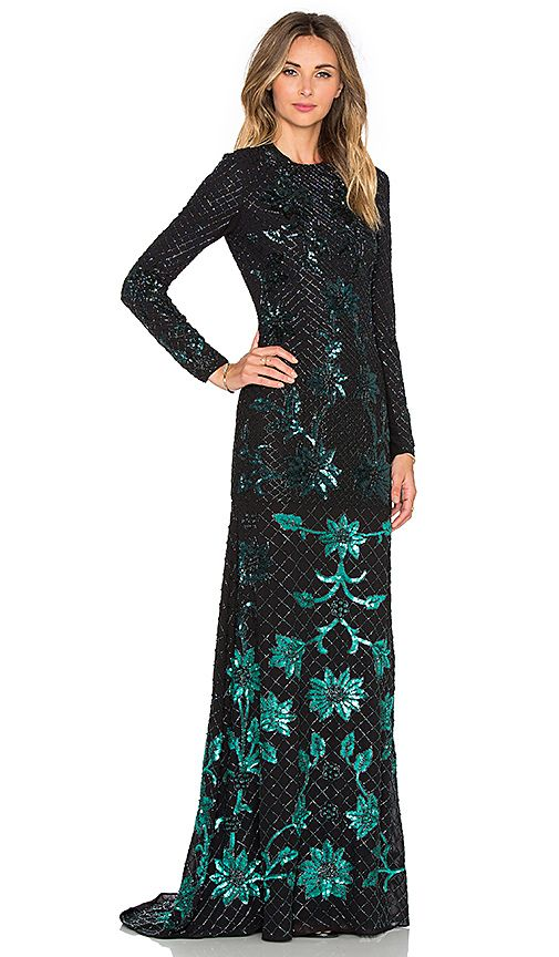 Shop for Needle & Thread Ombre Mesh Gown in Black & Green at REVOLVE. Free 2-3 day shipping and returns, 30 day price match guarantee.