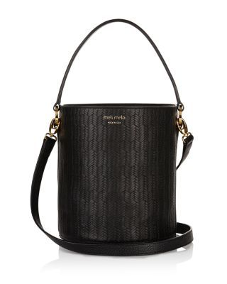 meli melo Santina Woven Bucket Bag | Bloomingdale's