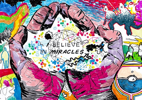 Believe in Miracles.: Art Decor, Design Centre Inspiration, Color, Hands, My Life, Heart Lovli, Art That, Daily Design Centre, Art Class Teaching