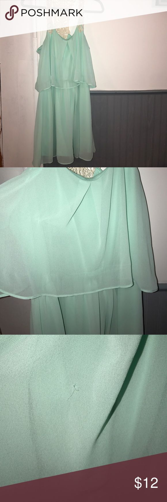 Light blue dress Light blue chevron dress Dresses