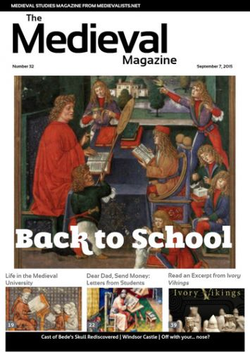 The Medieval Magazine – Issue 32 :http://www.medievalists.net/2015/09/08/the-medieval-magazine-issue-32/