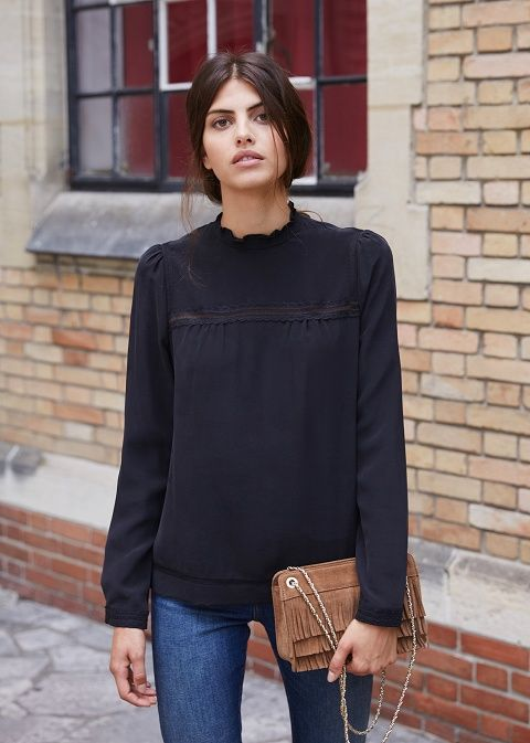 25  best ideas about Black Blouse Outfit on Pinterest | White ...