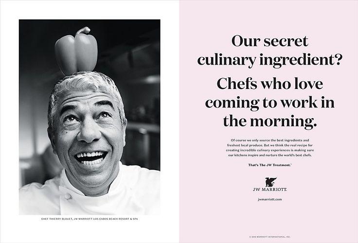JW Marriott print ads