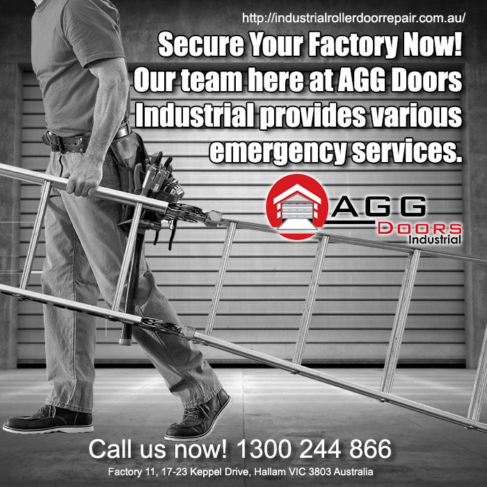 AGG Doors Industrial has the Professional Technicians who will be happy to do the work for you. Call Us at  1300 244 866.  #industrialdoorrepair #industrialrollerdoorrepair #commercialrollershutterrepair #commercialrollerdoorrepair #rollershutterrepairsMelbourne