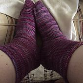 Ravelry: Toe Up Sock Recipe pattern by Sam Bowie
