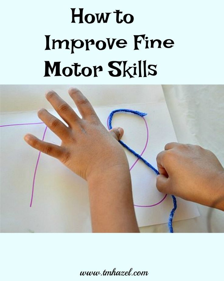 How To Improve Fine Motor Skills