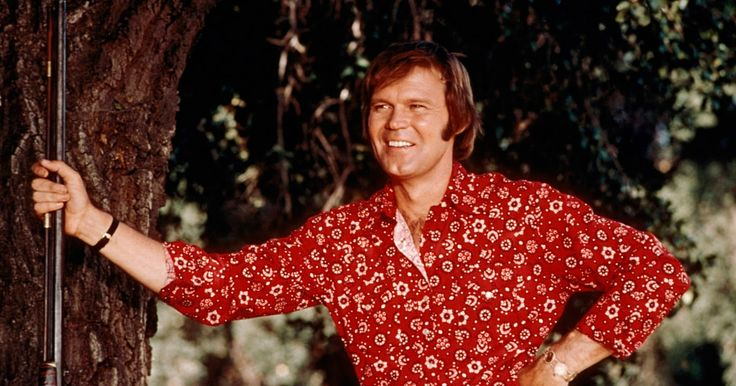 Glen Campbell, the country-pop singer-guitarist known for songs like Rhinestone Cowboy has died at 81. (April 22, 1936 – August 8, 2017)