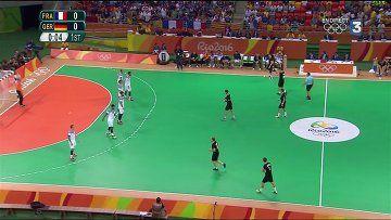 Handball Demi Finale JO Rio France vs. Allemagne - http://cpasbien.pl/handball-demi-finale-jo-rio-france-vs-allemagne/
