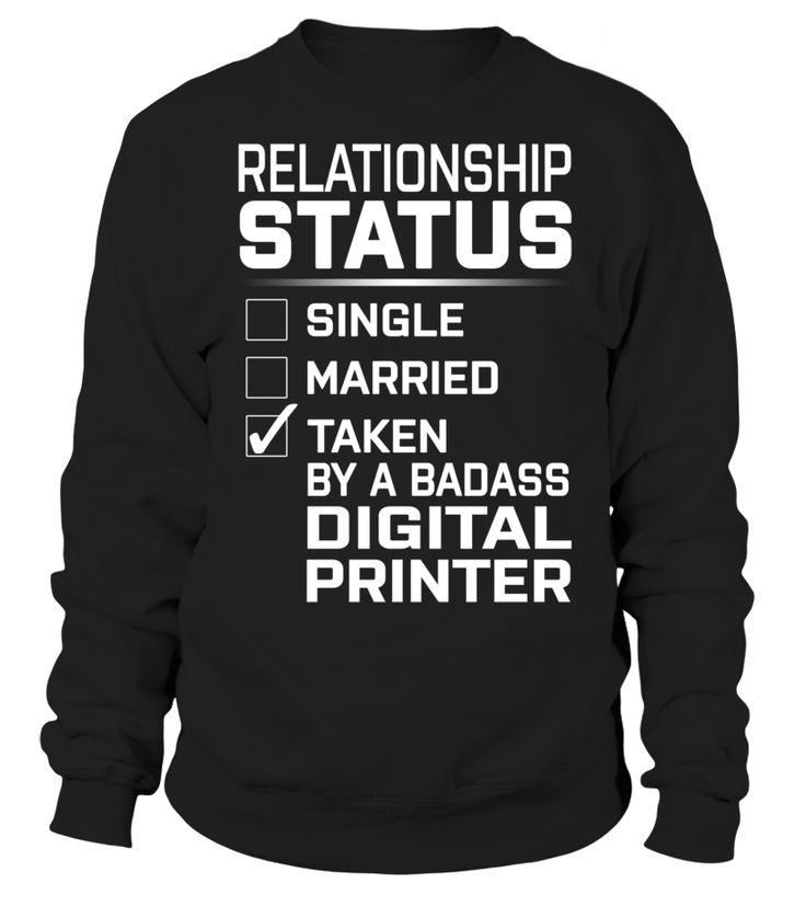 Digital Printer - Relationship Status