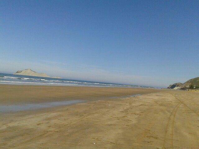 Waimarama beach in sunny Hawkes Bay NZ