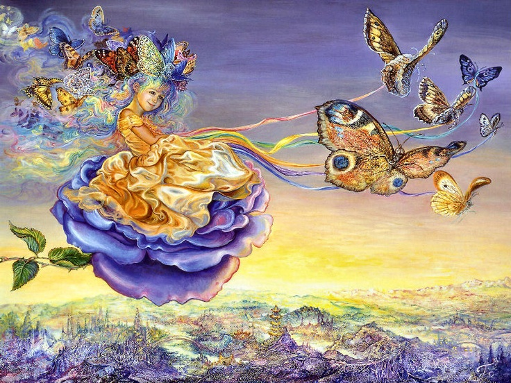137 best Art..Josephine Wall images on Pinterest | Josephine wall ...