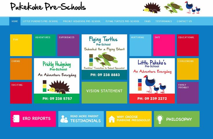 At Pukekohe Preschools we promote peaceful interactions between all individuals, role modelling responsive techniques and negotiating skills as a basis for the development of genuine relationships. Little Pukeko's, Flying Turtles and Prickly Hedgehog preschool centres – creative, imaginative play in an absolutely child safe environment