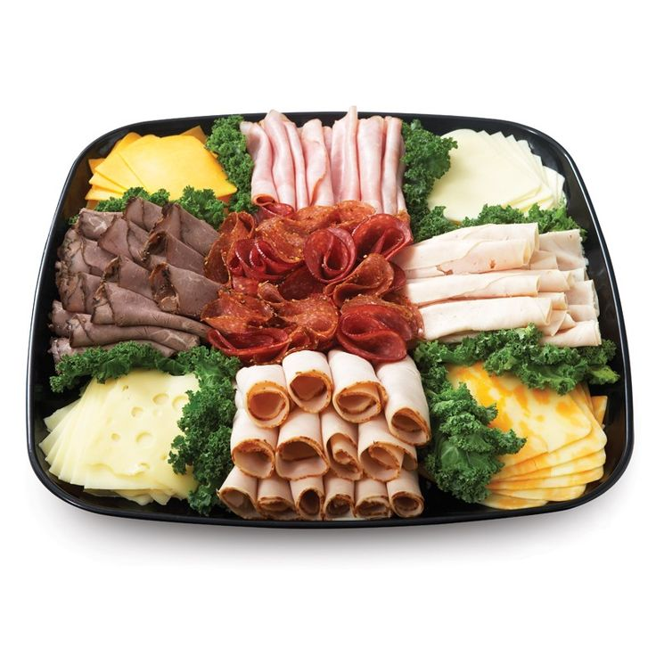 Classic Meat & Cheese Combo - Deli Trays and Platters - Individual Trays